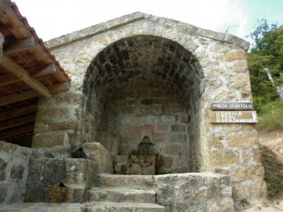 Waschhaus in Bastelica