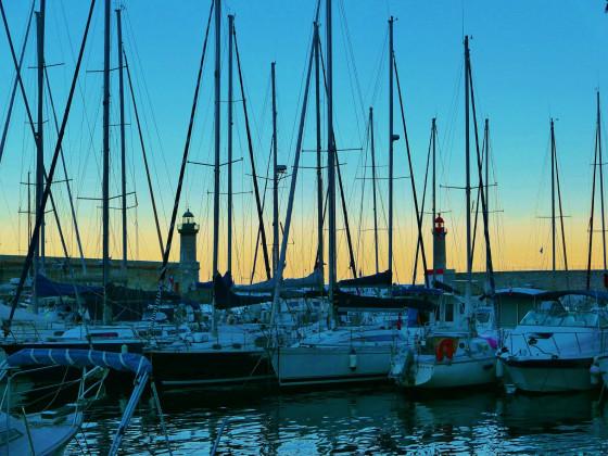 Es wird Abend in Bastia