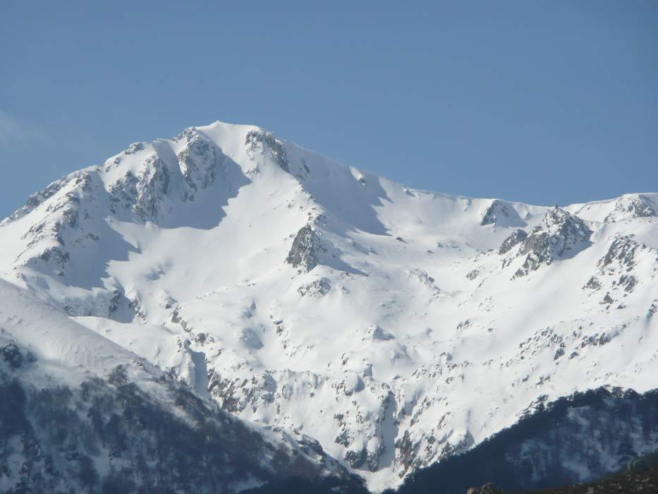 Monte Renoso im Winter