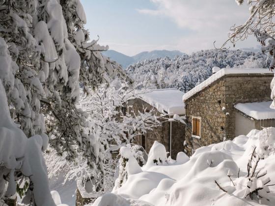 Winter im Fiumorbo 2