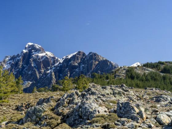 Panorama Paglia Orba von der Crête d'Astenica aus