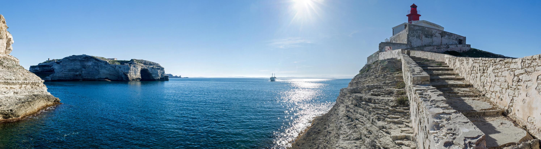Panorama la phare de la Madonetta