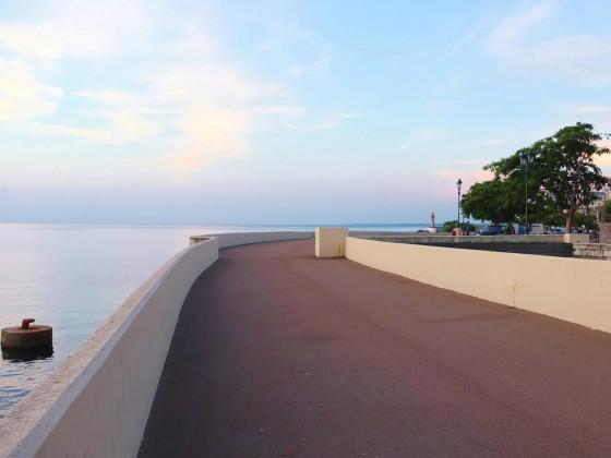 Frühmorgens in Bastia
