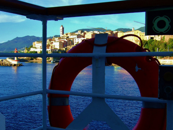 Korsika in Sicht - gerettet!
