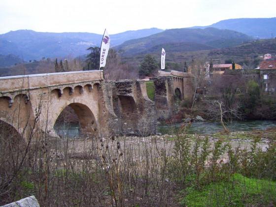 Ponte Nuovo  historische Brücke