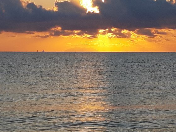 Sonnenaufgang über dem Monte Christo, Ostküste