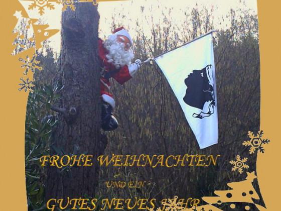 Weihnachtsgruß auf korsisch