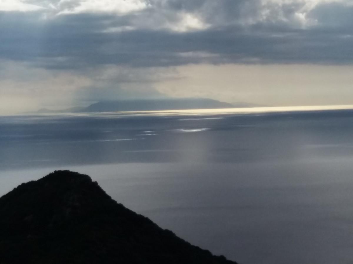 Blick zur Insel Monte Christo