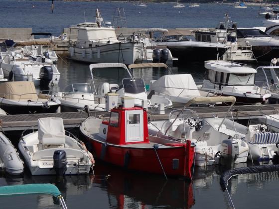 L´Ile Rousse Hafen