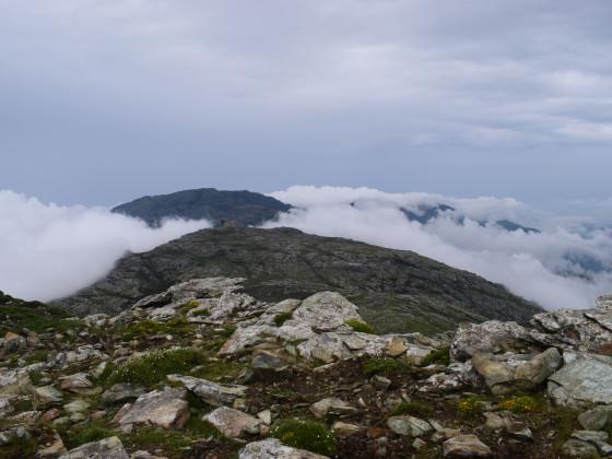 über den Wolken am Monte Stello