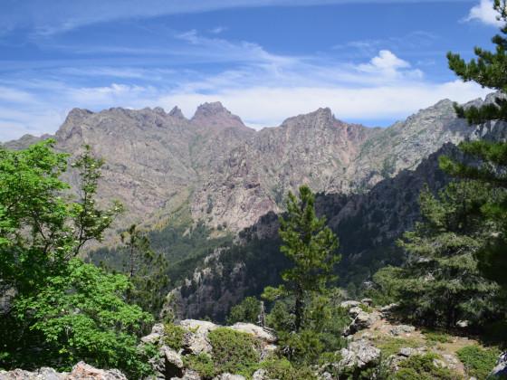 Blick von der Bocca di Cuccavera