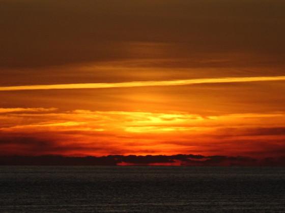 Sammelsurium von Sonnenuntergängen