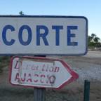 Hier geht's nach Ajaccio