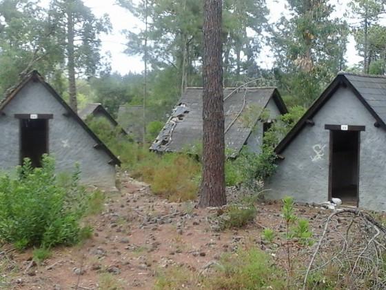 Casabianda. Wenn diese Hütten sprechen könnten.....