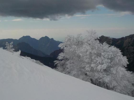 vue sur Capu d'Ortu et Vitullu