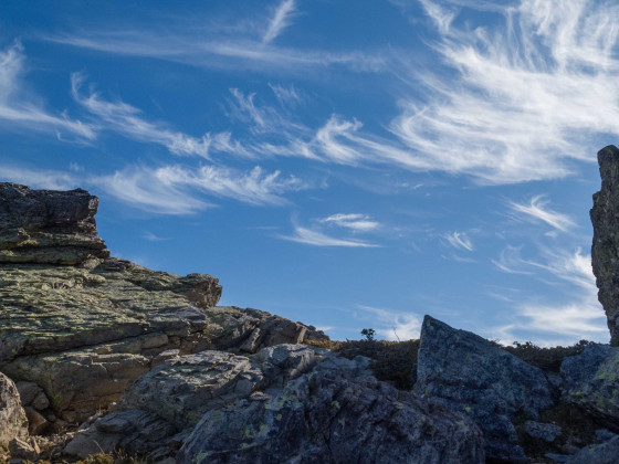 im Aufstieg zum Monte Corona