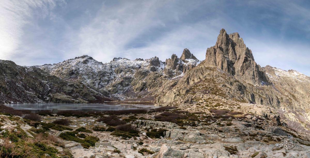 Lac de Melo und Pic Lombarducciu