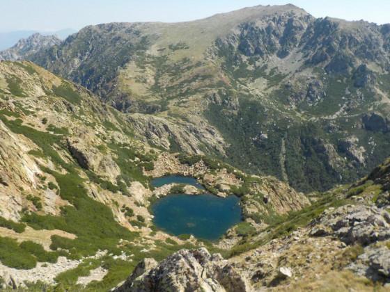 lac de Bracca von bocca Capanella