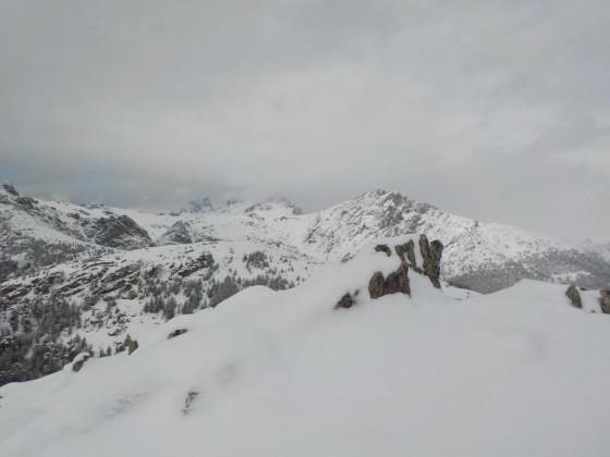 vue du sommet du Capu a Rughia