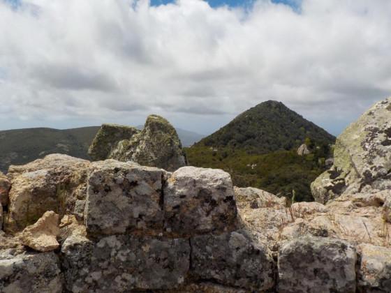 vue de la tour de guet vers San Sisto