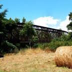 Alte Eisenbahnbrücke über die  Bravona