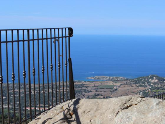 Ausblick von San  Antonino