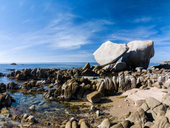 le rochers blancs de Capu di Muro