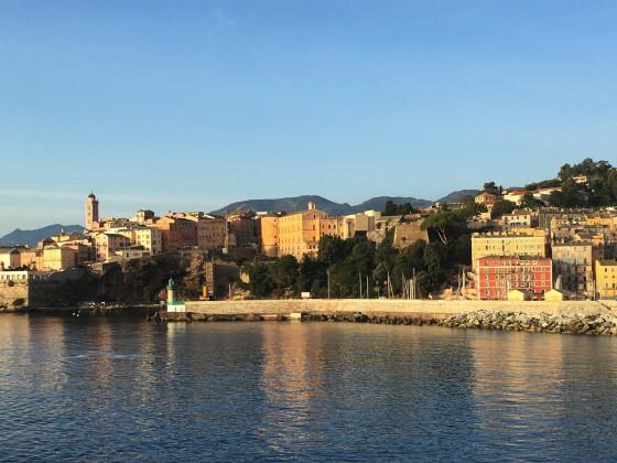 Bastia 2019 Ankunft