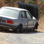 Auto an der D 81
